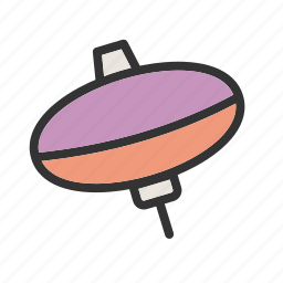 movement, spin, spinner, spinning, top, tops, toy icon