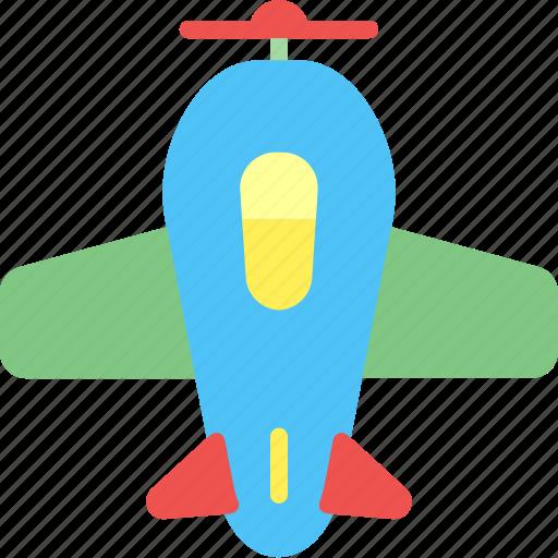 child, game, kid, plane, play, toy icon
