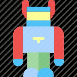 child, game, kid, play, robot, toy icon