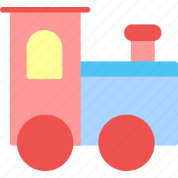 child, game, kid, play, toy, train icon