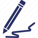 ballpoint, pen, sign, signature, writing icon