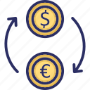 currency, currency conversion, currency converter, currency exchange, dollar icon
