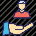 bank service, care, customer, customer care, service icon