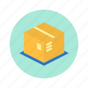 bank, box, market, money, trade icon