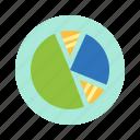bank, diagram, market, money, trade icon