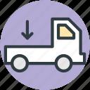 pick up van, delivery van, van, delivery car, hatchback