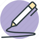 fountain pen, ink pen, pen, write tool icon