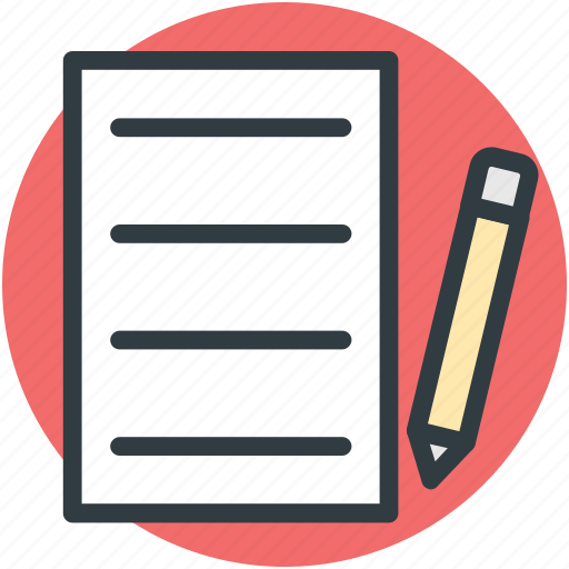 article writing, content writing, documentation, pen, writing icon