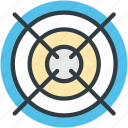 aim, bullseye, dartboard, game, goal icon