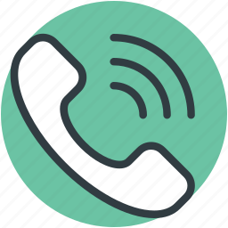 call service, call sign, call vibration, calling, telephone receiver icon
