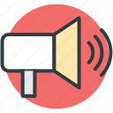 audio, audio speaker, high volume, loud, music, noise, sound, speaker, volume icon
