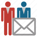 communication, email, envelope, marketing, mass mail, message, spam icon