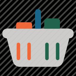 buy, buyer basket, consumerism, order, purchase, shopping cart, supermarket icon