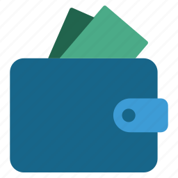 cash, finance, financial, pay, payment, purse, wallet icon