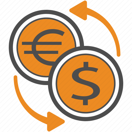 Usd, finance, business, dollar, trading, euro, eur icon - Download