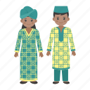 traditional dress, african, people, male, female, woman, dashiki icon