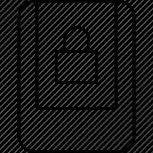 lock, signs, traffic, transportation icon