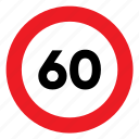 limit, sign, signal, speed, speed limit, traffic