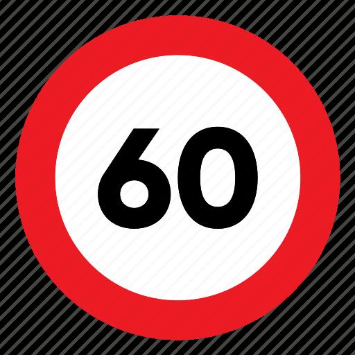 limit, sign, signal, speed, speed limit, traffic icon