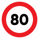 limit, sign, signal, speed, speed limit, traffic icon