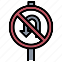 allowed, circulation, not, sign, signaling, traffic