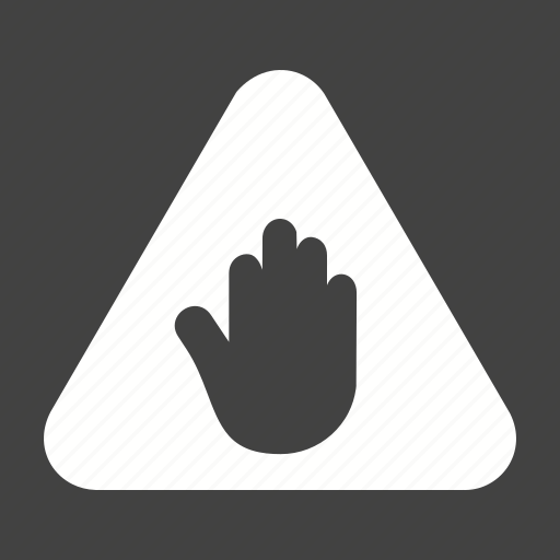 driving, road, safety, sign, stop, transportation, warning icon