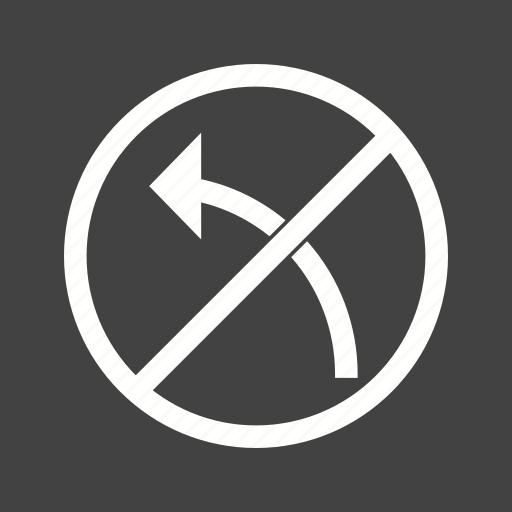 danger, left, red, road, sign, traffic, transportation icon