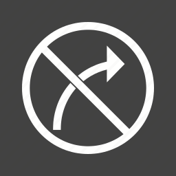 danger, red, right, road, sign, traffic, transportation icon