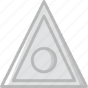 caution, general, sign, traffic, transport icon