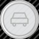 cars, forbidden, sign, traffic, transport icon