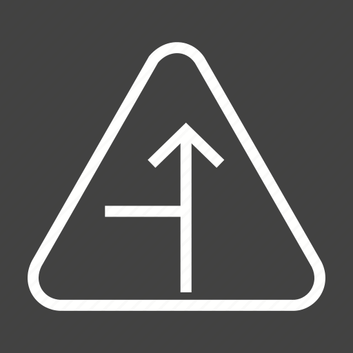 arrow, left, road, sign, traffic, transportation, travel icon