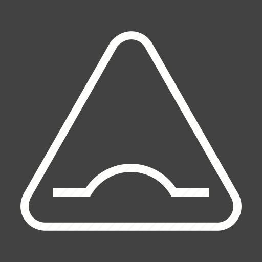 ahead, bump, bumpy, road, sign, travel, warning icon