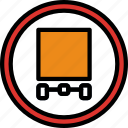 allow, sign, traffic, transport, trucks icon
