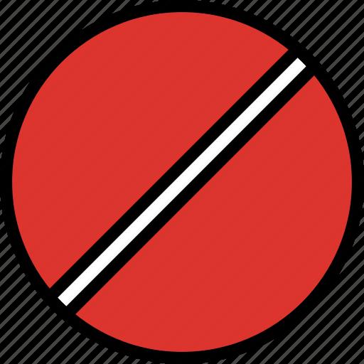 forbidden, sign, traffic, transport icon
