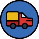 forbidden, sign, traffic, transport, trucks icon