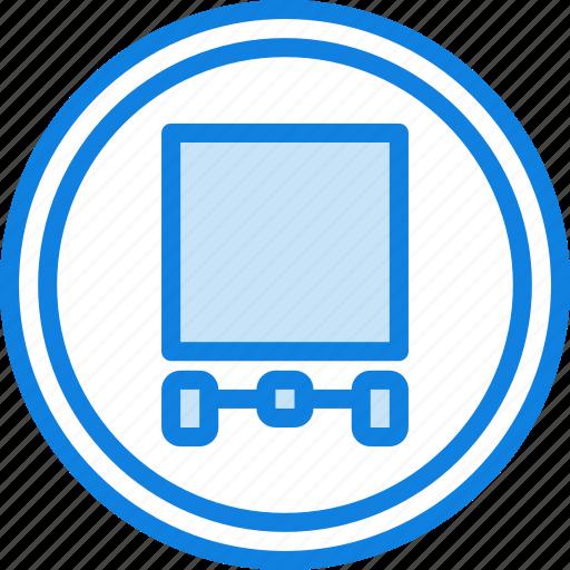 allow, sign, traffic, transport, trucks icon