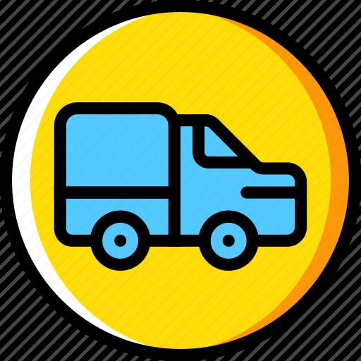 forbidden, sign, traffic, transport, trucks icon
