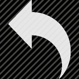 back, undo icon