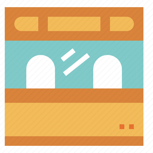 office, shop, ticket, tickets, transportation icon
