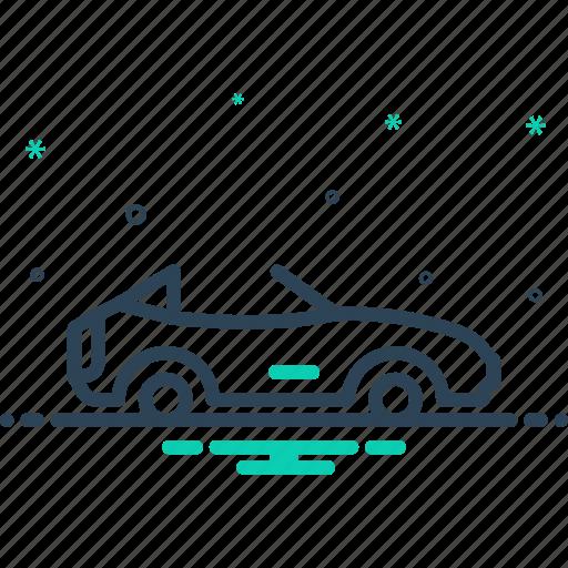 Cabriolet, car, motor, motor car, stylish, transport, travel icon - Download on Iconfinder