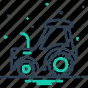 agriculture, agrimotor, farm, quad, skinner, tractor, transportation
