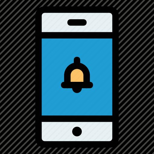 activity, alarm, alert, bell, mobile, notification, transaction icon