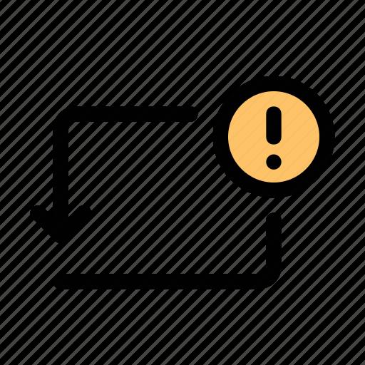 activity, error, notice, payment, send, transaction, transfer icon
