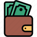 activity, bank, cash, money, payment, transaction, wallet icon