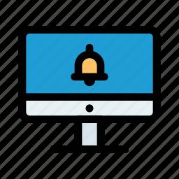 alarm, alert, bank, bell, notification, transaction, transfer icon
