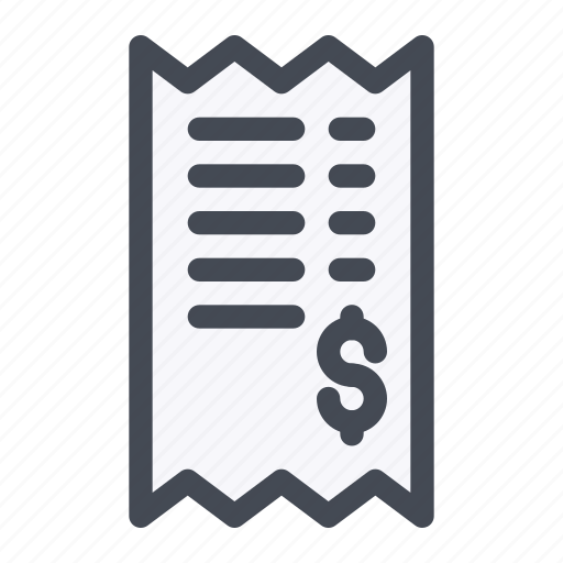 activity, bank, bill, payment, receipt, transaction, transfer icon