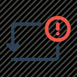 bank, error, notice, payment, send, transaction, transfer icon