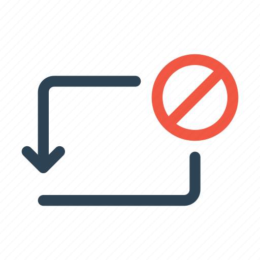 activity, bank, banned, block, transaction, transfer icon