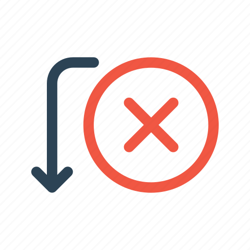 activity, bank, cancel, fail, payment, receive, transfer icon
