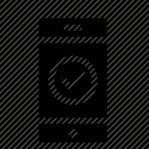 approve, bank, mobile, success, transaction, transfer, verify icon